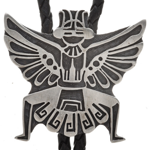 Sterling Knifewing Bolo Tie 29624