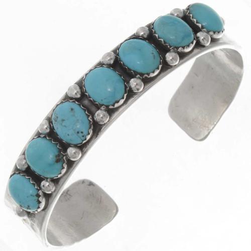 Turquoise Silver Bracelet 25709