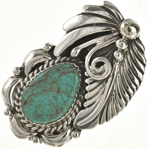 Navajo Nevada Turquoise Ring 23703