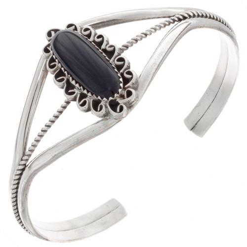 Onyx Silver Ladies Bracelet 13266