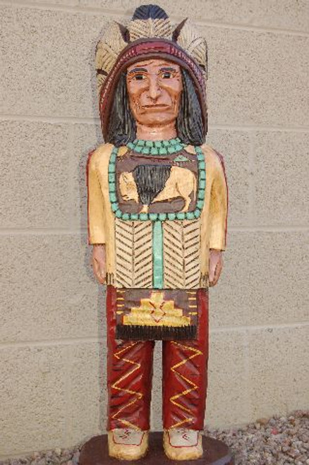 Cigar Store Indian Chief 33955