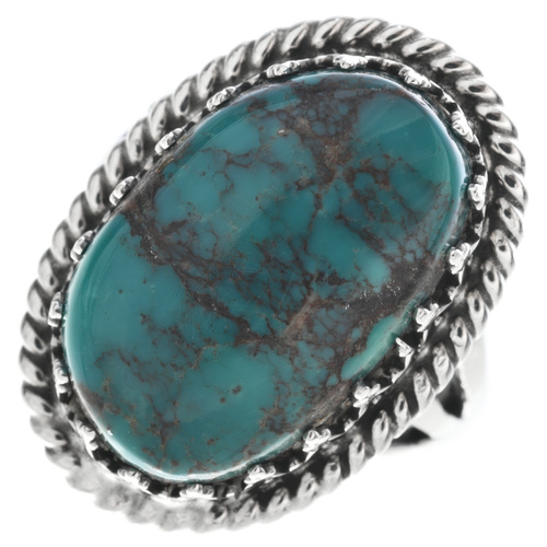 Genuine Bisbee Turquoise Ring 27810