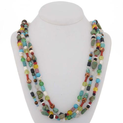 Navajo Treasure Necklace 25523