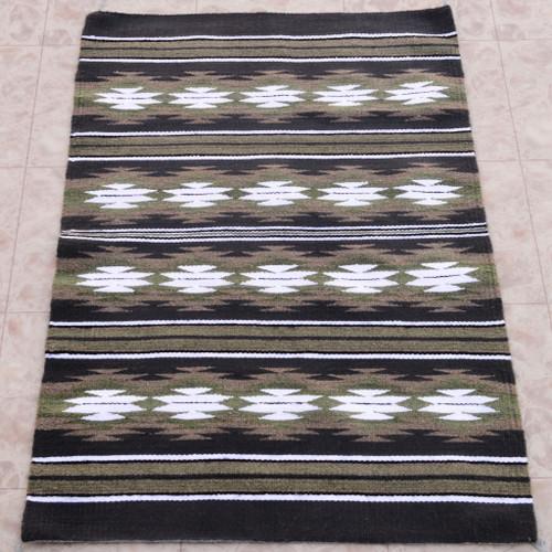 Navajo Chinle Squash Blossom Wool Rug