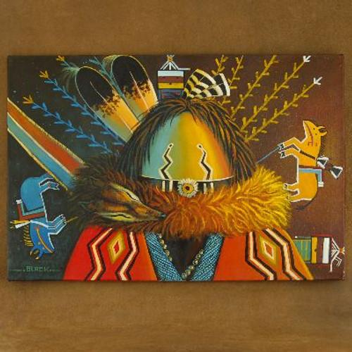 Navajo Yei Sandpainter Giclée Print 16397
