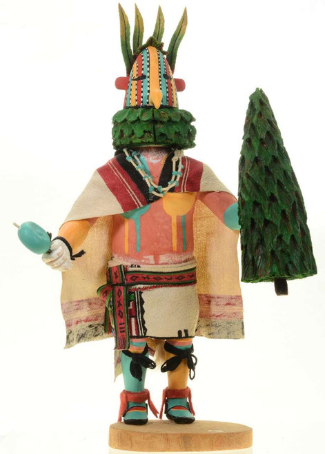 Vintage Flower Kachina Doll 27563