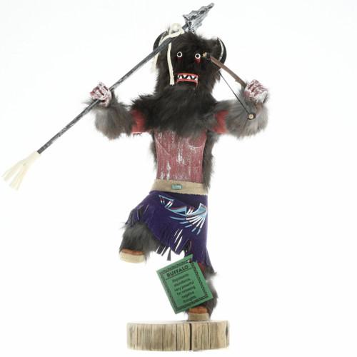 Buffalo Warrior Kachina Doll 16805