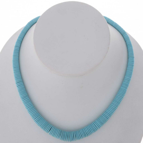 Turquoise Disc Beads 25595
