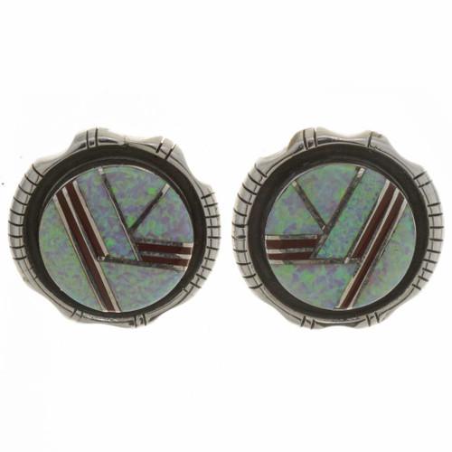 Inlaid Opal Earrings 26776