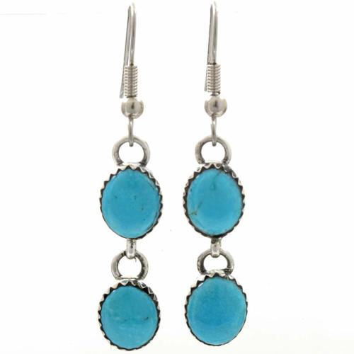 Turquoise Southwest Drop Earrings 233854