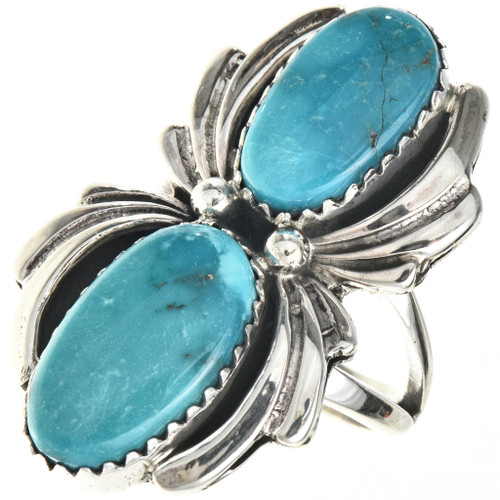 Turquoise Sterling Ladies Ring 29092