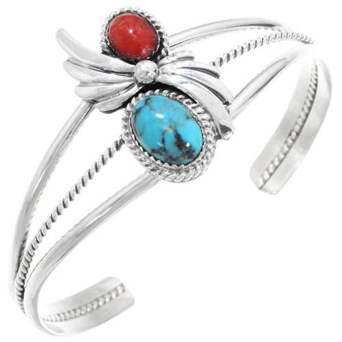 Turquoise Coral Ladies Bracelet 27983