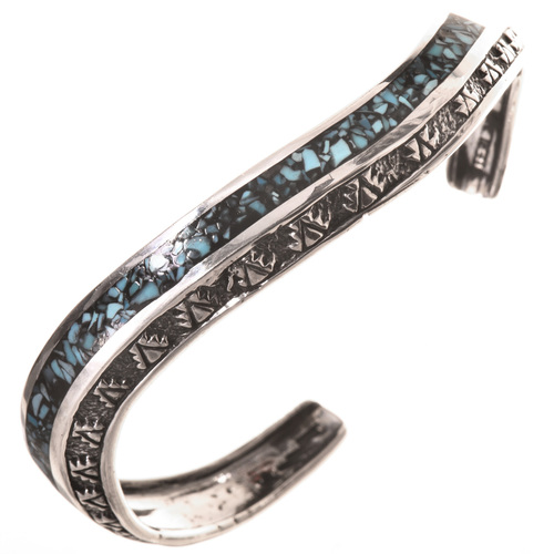 Turquoise Silver Ladies Bracelet 28761
