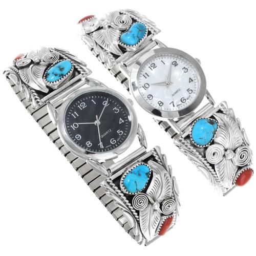 Mens Navajo Turquoise Watch 24499