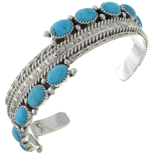 Turquoise Silver Bracelet 27525