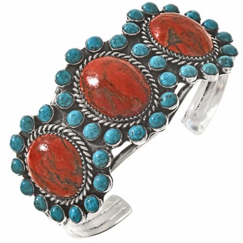 Coral Turquoise Handmade Bracelet 23373