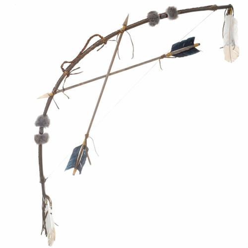 Plains Indian Bow Arrows Set 10123