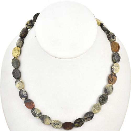 Yellow Turquoise Beads 30879