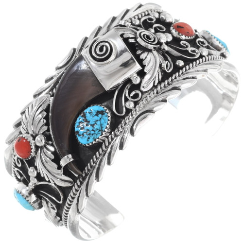 Bear Claw Turquoise Cuff 26216