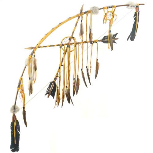 Dreamcatcher Bow Crossed Arrows 25190