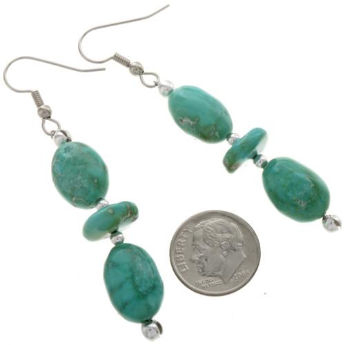 Kingman Turquoise Line Earrings 28268