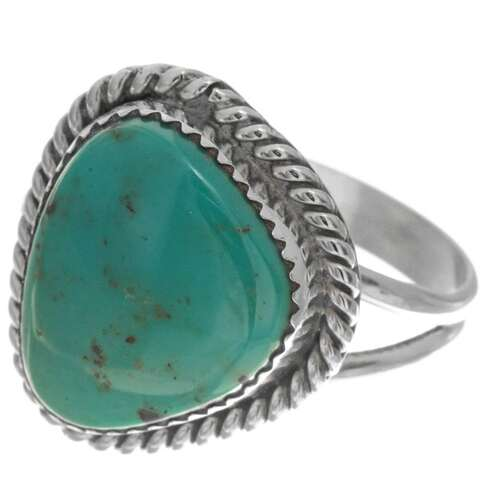 Ladies Turquoise Navajo Ring 26502