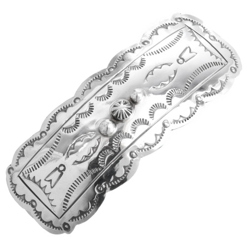 Sterling Silver Hair Barrette 25459