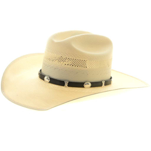Sterling Concho Hat Band 27178
