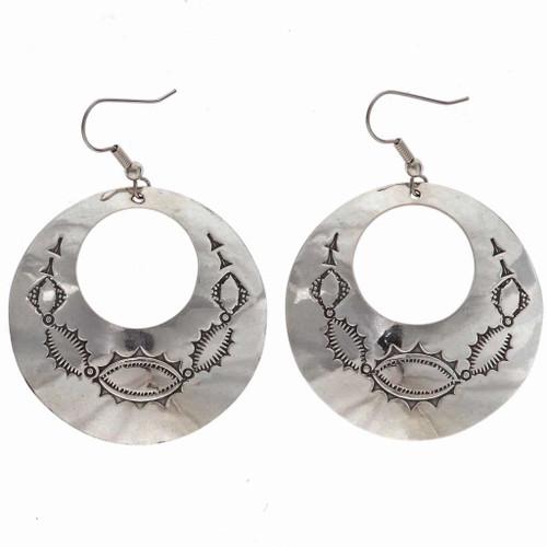 Silver Hoop Earrings 25185