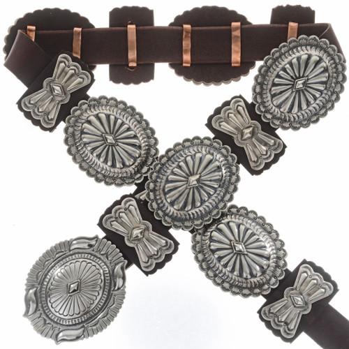 Sterling Silver Concho Belt 27900