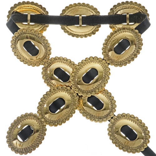 Apache Gold Indian Concho Belt 19712