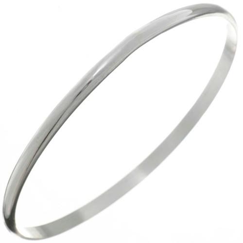 Hammered Silver Navajo Bangle Bracelet 26451