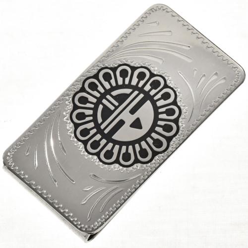 Sunface Kachina Money Clip 28985