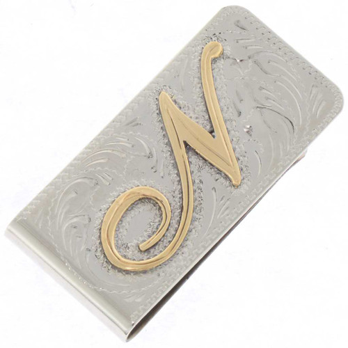 Custom Initial Money Clip 25183
