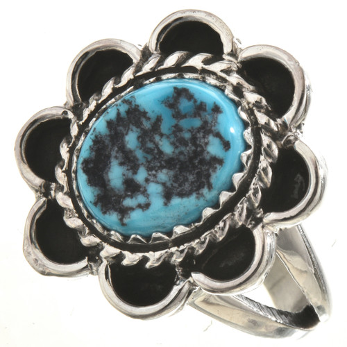 Turquoise Nugget Ladies Ring 28669