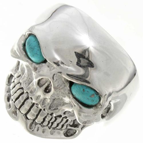 Turquoise Biker Mens Ring 26739