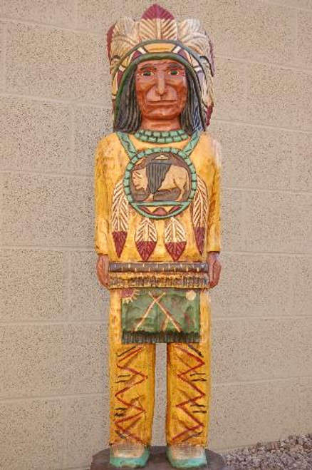 Four Foot Cigar Store Indian 33999