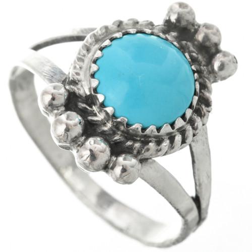 Kingman Turquoise Sterling Ring 26786