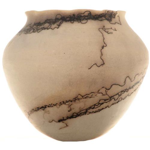 Horsehair Handbuilt Pottery 15474