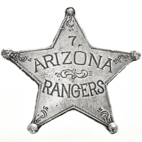 Arizona Rangers Western Star Badge 29003