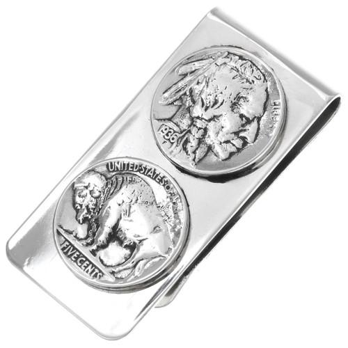 Navajo Buffalo Nickel Money Clip 23622