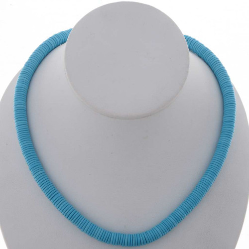 Turquoise 8mm Disc Beads 25600