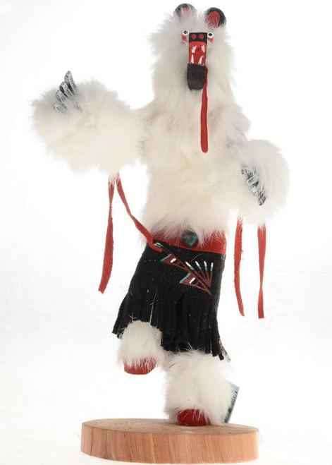 White Bear Kachina Doll 16810
