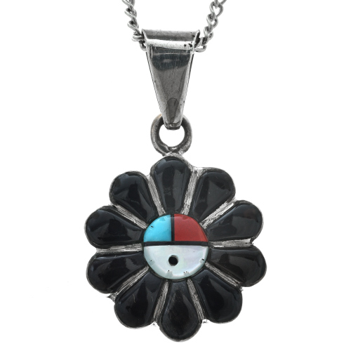 Native American Sunface Jewelry Set 1101