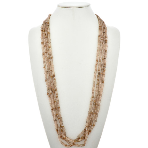 Beaded Indian Squaw Wrap Necklace 15020