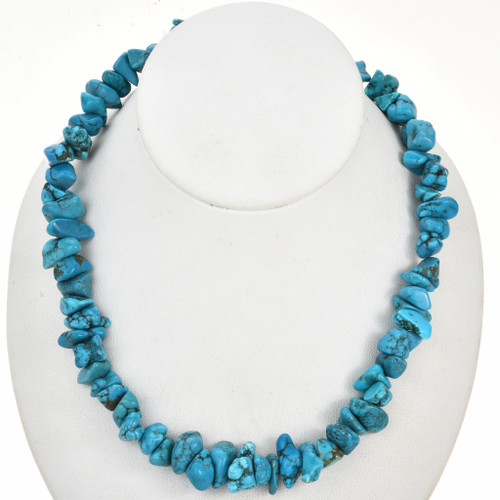 Turquoise Magnesite Nugget Beads 30872