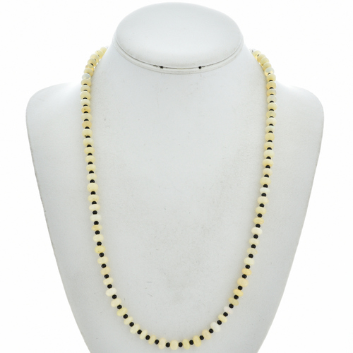 Opal Black Spinel Necklace 29746