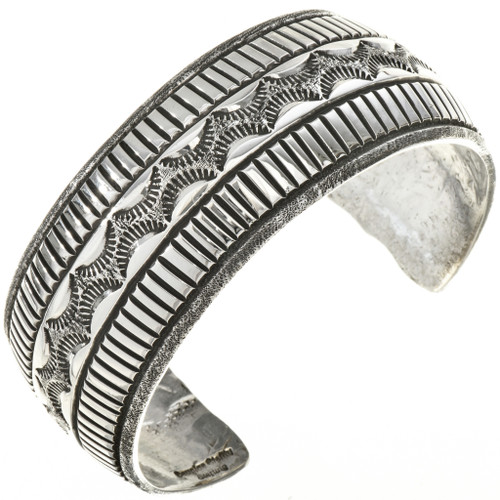 Vintage Sterling Navajo Bracelet 29073