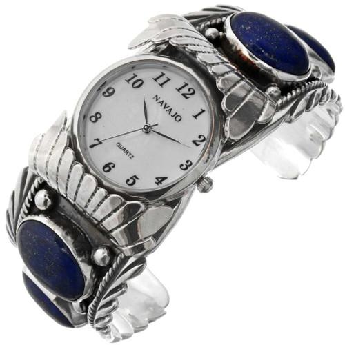 Big Boy Navajo Silver Watch 23454