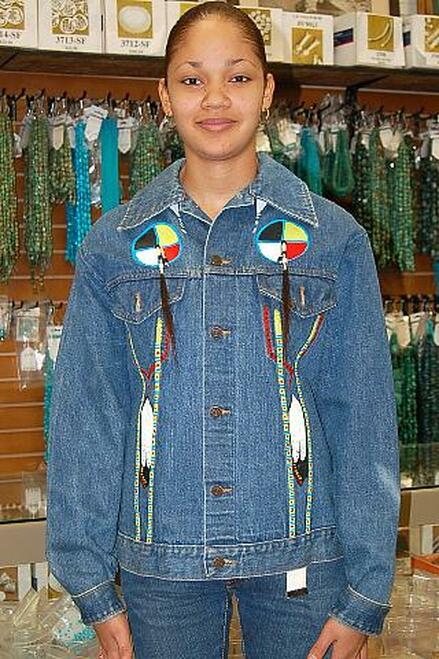 Native American Denim Jacket 10500